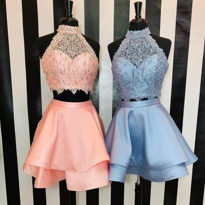 Princess Two Piece Halter Short Pin..